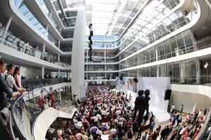 Die neue Siemens Konzernzentrale / Siemens' new company headquarters
