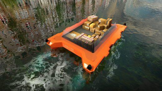La Amsterdam vor aparea primele drone plutitoare