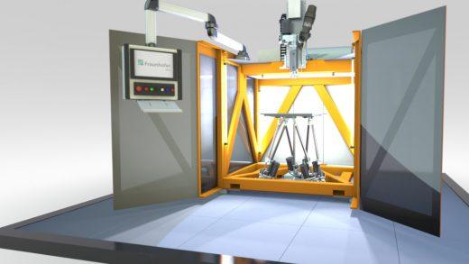 Imprimantă 3D de mare viteză pentru materiale plastice de înaltă performanță