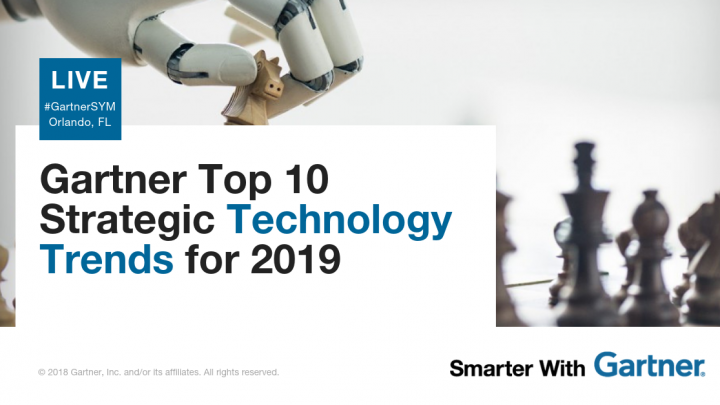 Top 10 Strategic Technology Trends for 2019